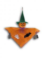 Décoration à suspendre fantôme citrouille Halloween