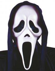 Masque fantôme noir blanc