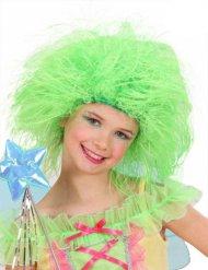 Perruque enfant vert