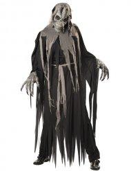 Déguisement zombie crâne ani-motion homme Halloween