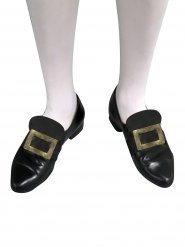 Boucles de chaussures dorées