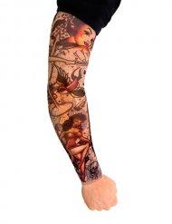 Tattoo multicolore pour manches courtes