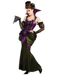 Déguisement femme vampire époque victorienne