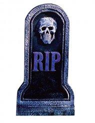 Décoration pierre tombale squelette 20x40cm