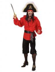 Bermuda de pirate noir homme