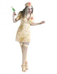 Déguisement zombie infirmière Halloween femme