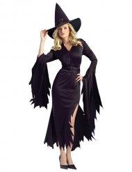 Déguisement sorcière noire femme Halloween