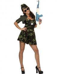 Déguisement soldat militaire femme sexy