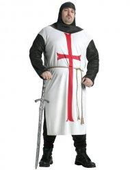 Déguisement chevalier templier grande taille homme