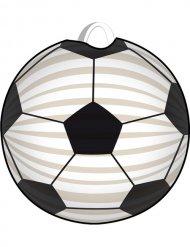 Lanterne football blanc-noir