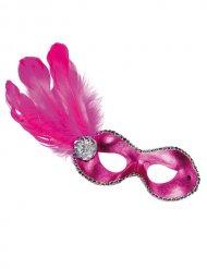 Masque vénitien femme rose
