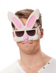 Lunettes humoristiques lapin adulte