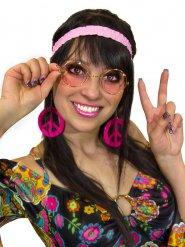 Kit hippie rose femme