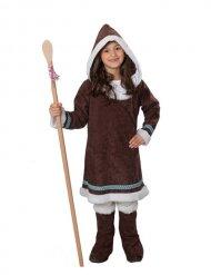 Déguisement Esquimau marron enfant