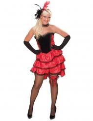 Déguisement danseuse cancan western femme