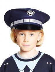 Casquette policier enfant bleu
