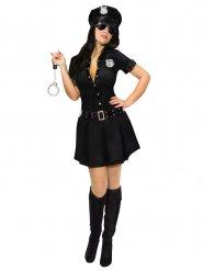 Déguisement policière sexy avec insigne femme