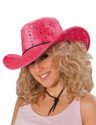 Chapeau cowgirl rose