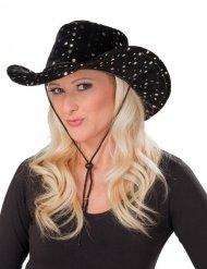Chapeau cowgirl noir femme