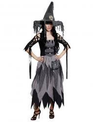 Déguisement robe de sorcière classique Halloween