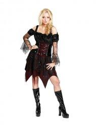 Déguisement sorcière gothique femme