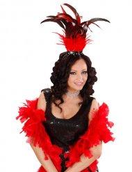 Coiffe samba plumes