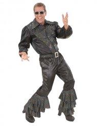 Pantalon disco à paillettes pour homme