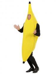 Déguisement banane jaune adulte