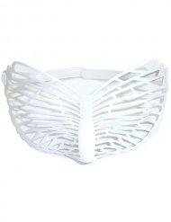 Lunettes papillon blanches