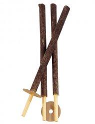 Trois torches décoratives pour jardin 56 cm