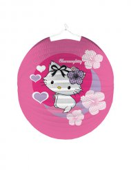Lampion Charmmy Kitty décoration anniversaire enfant rose