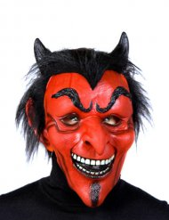 Masque de diable en latex Halloween