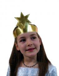 Bandeau doré avec étoile enfant