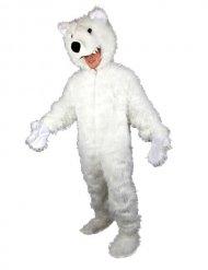 Déguisement ours polaire blanc adulte