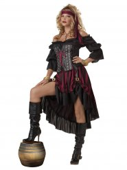 Déguisement pirate femme luxe