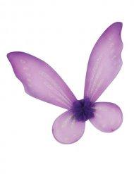 Ailes de fée violettes enfant