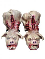Sur-chaussures cochons Halloween