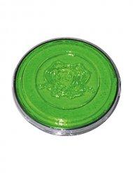 Maquillage UV couleur néon vert