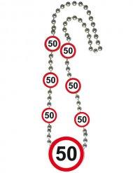 Collier anniversaire 50 ans