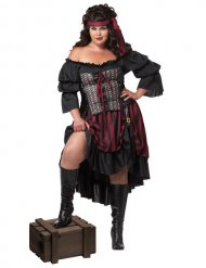 Déguisement pirate grande taille femme