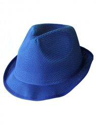 Chapeau Trilby bleu
