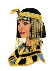 Collier égyptien Cléopâtre or-noir