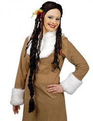 Fantasy Wig Braids black-brown