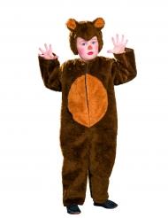Déguisement ours brun enfant