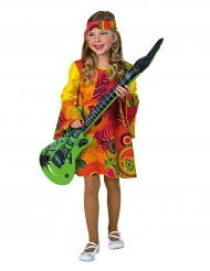 Déguisement hippie rouge fille