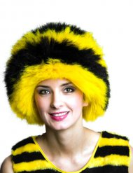 Bee Afro Wig yellow-black