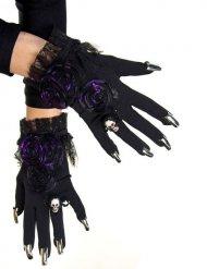 Gants de sorcière avec ongles
