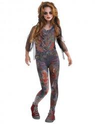 Déguisement zombie ensanglanté fille