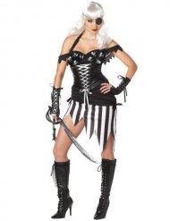 Déguisement pirate gothique femme Halloween