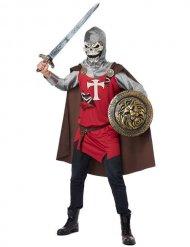 Déguisement chevalier squelette Halloween homme